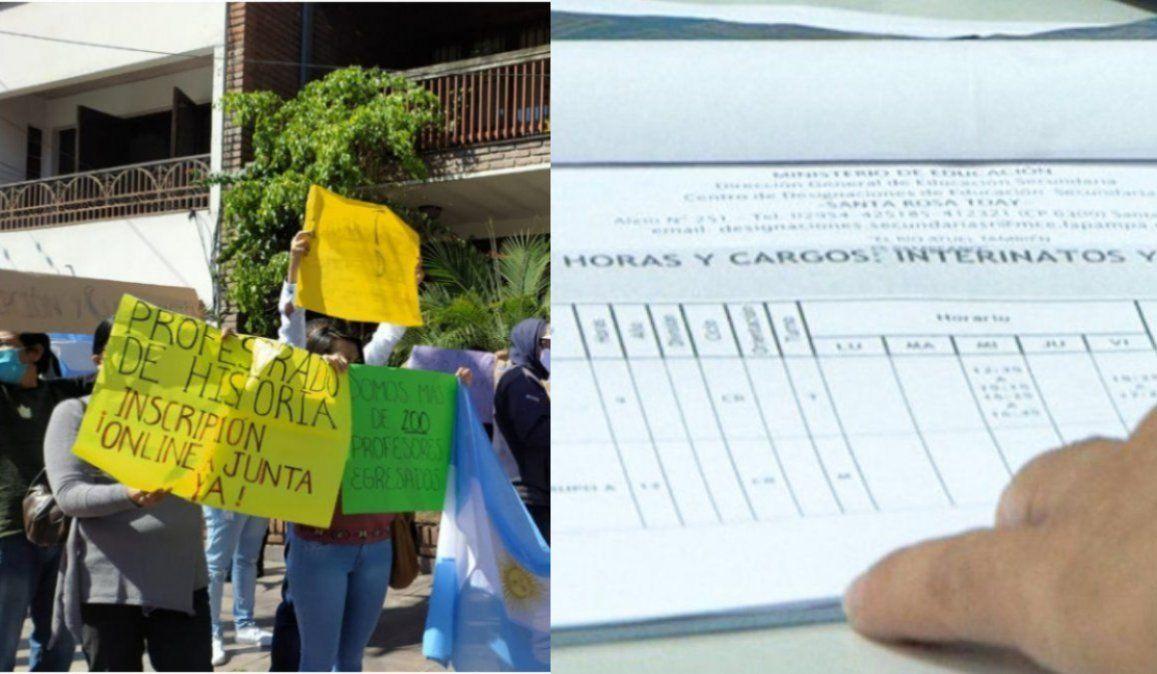 Tras el reclamo docente, el ministerio habilitó las inscripciones para cargos