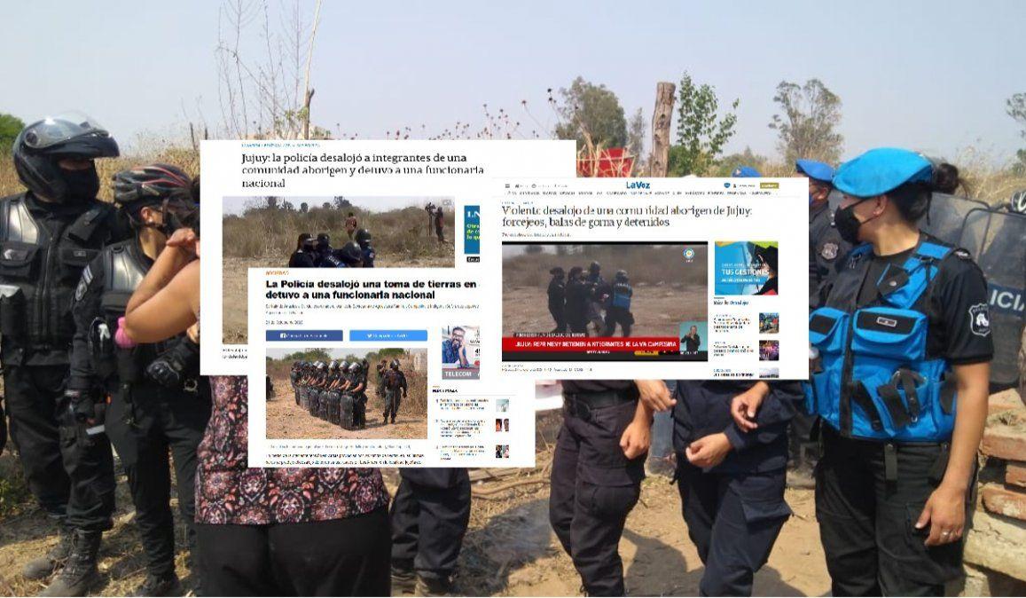 Las repercusiones en medios nacionales por el violento desalojo en Jujuy
