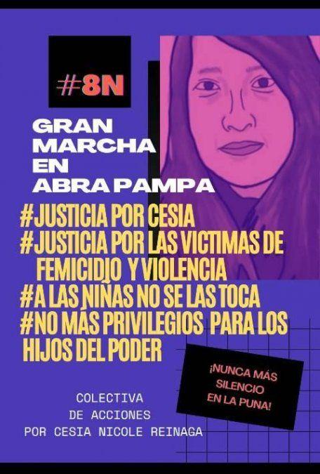 Caso Cesia Reinaga: Marcharán por la destitución de la concejal Noelia Velásquez