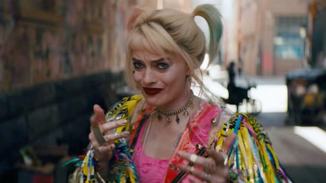 Margot Robbie, irreconocible en el trailer de Birds of prey