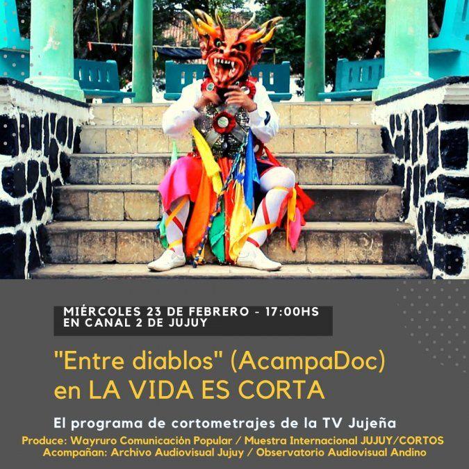 La vida es corta presenta cortometrajes de ACAMPADOC, Festival de Cine de Panamá