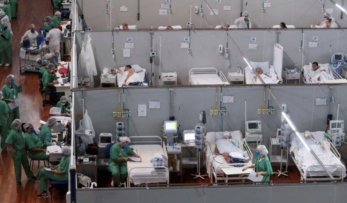Brasil con más de 4.200 muertes en un día sigue marcando récords
