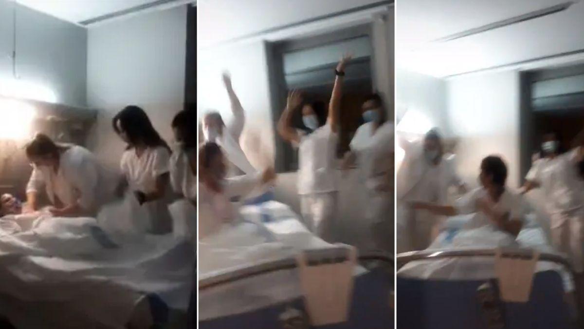 Enfermeras se burlan de los fallecidos por coronavirus y generan fuerte repudio en redes