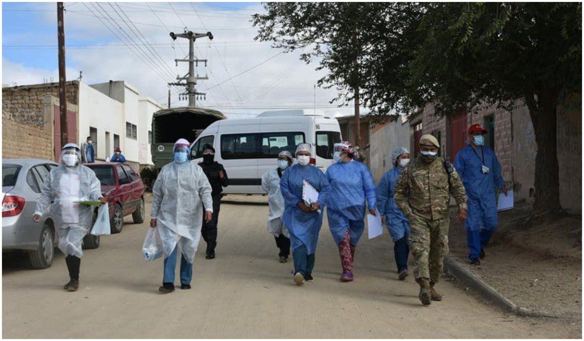 La Quiaca declarada zona amarilla y con toque de queda sanitario