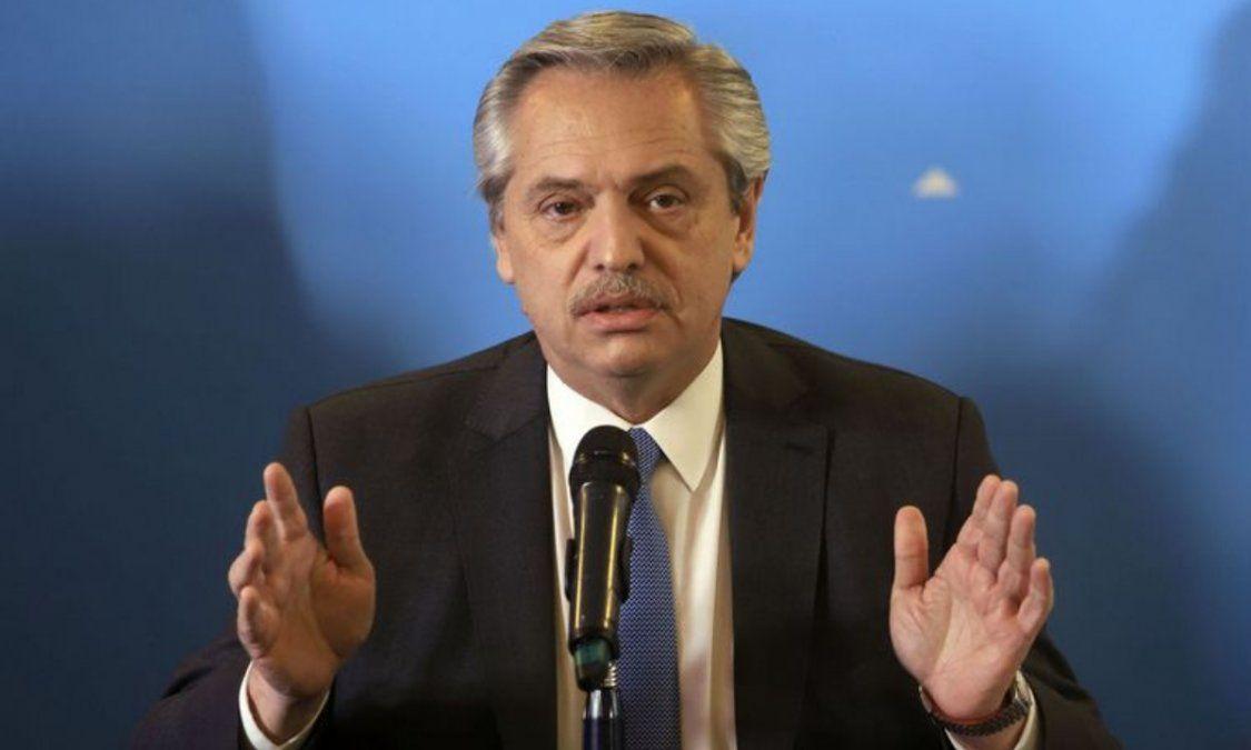 Alberto anunció un aumento para los jubilados en diciembre