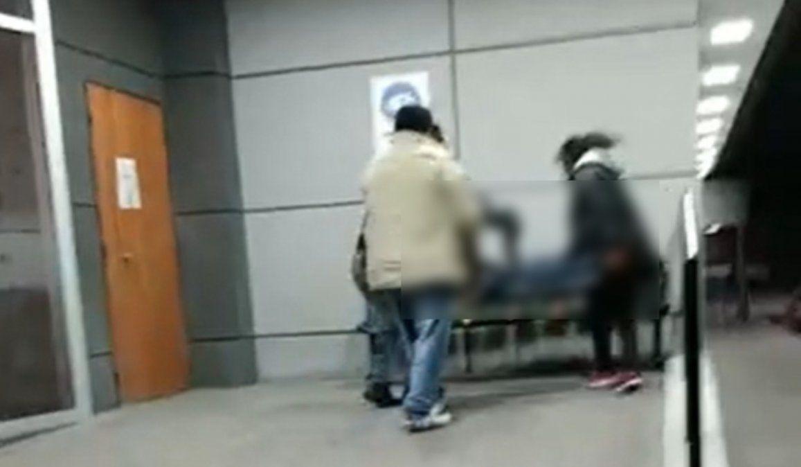 Desidia: Murió un abuelo en la puerta de la Clínica Fátima por falta de atención