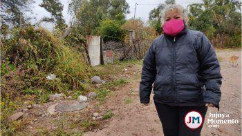 Reclamo en Palpalá: Una obra del municipio causa daños a la salud pública