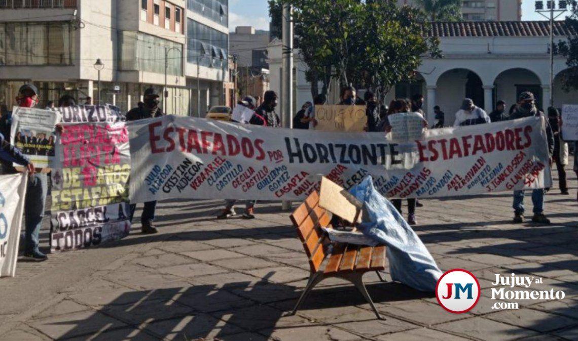 Estafados por Horizonte: Siguen vendiendo terrenos y nadie hace nada