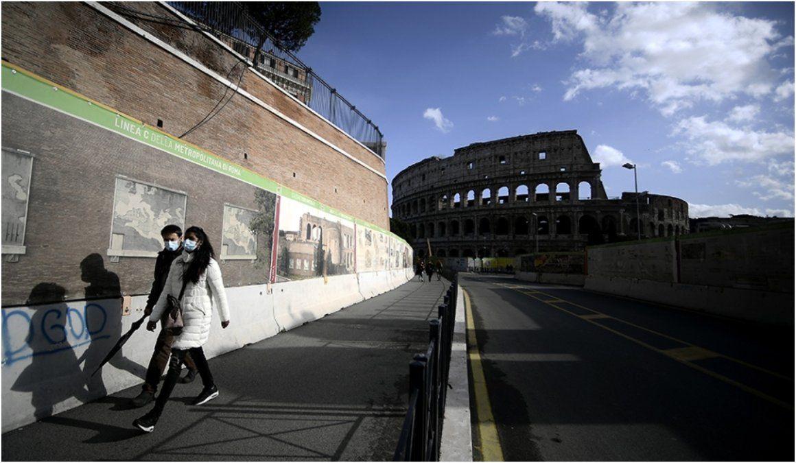Italia extiende la emergencia por coronavirus hasta el 30 de abril