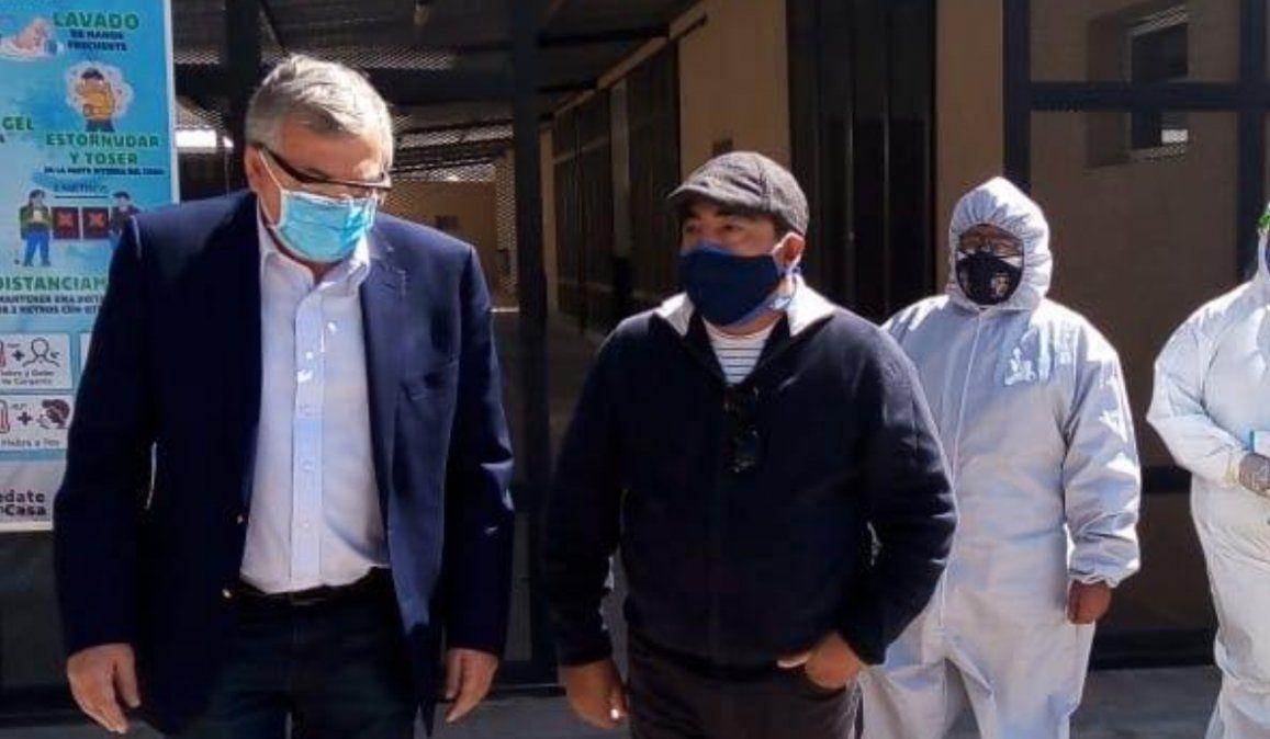El comisionado de Volcán tiene coronavirus y es el quinto jefe comunal afectado