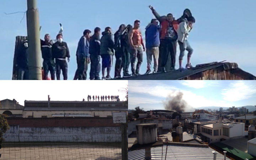 Los presos tomaron un pabellón del Penal de Gorriti