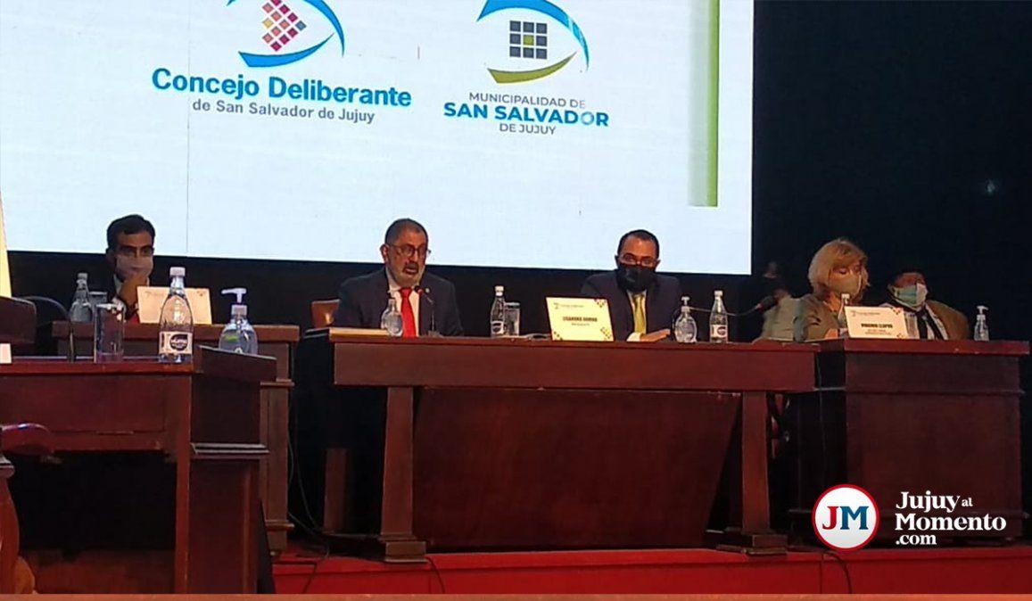 Coparticipación, ascensor urbano y ciclovías: temas centrales del discurso del intendente Jorge