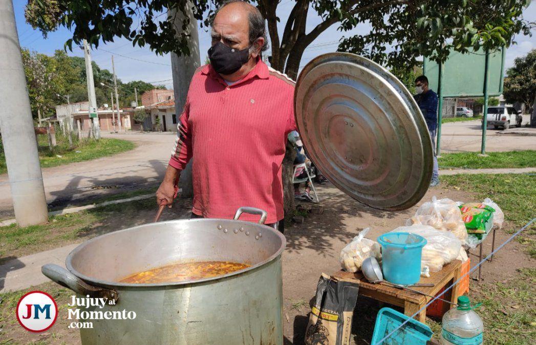 Palpalá: Más gente necesitada llega a los comedores en busca de un plato de comida