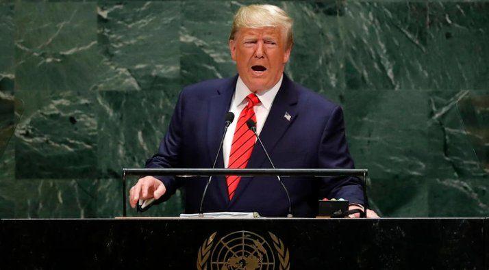Trump advirtió sobre una guerra civil si lo destituyen