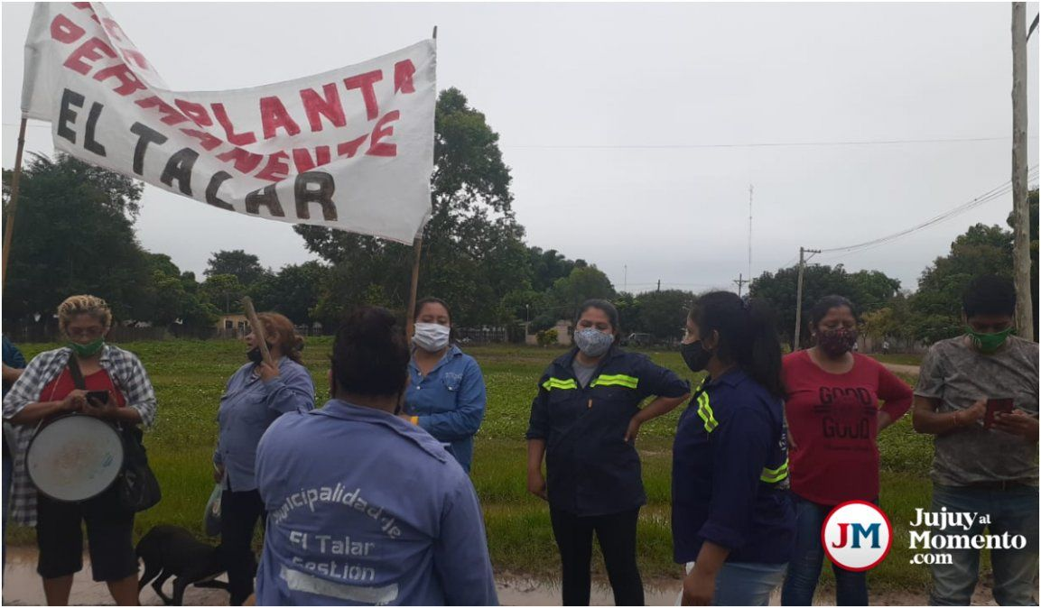 Sigue la tensión en El Talar por el pase a planta: concejales están ubicando a familiares
