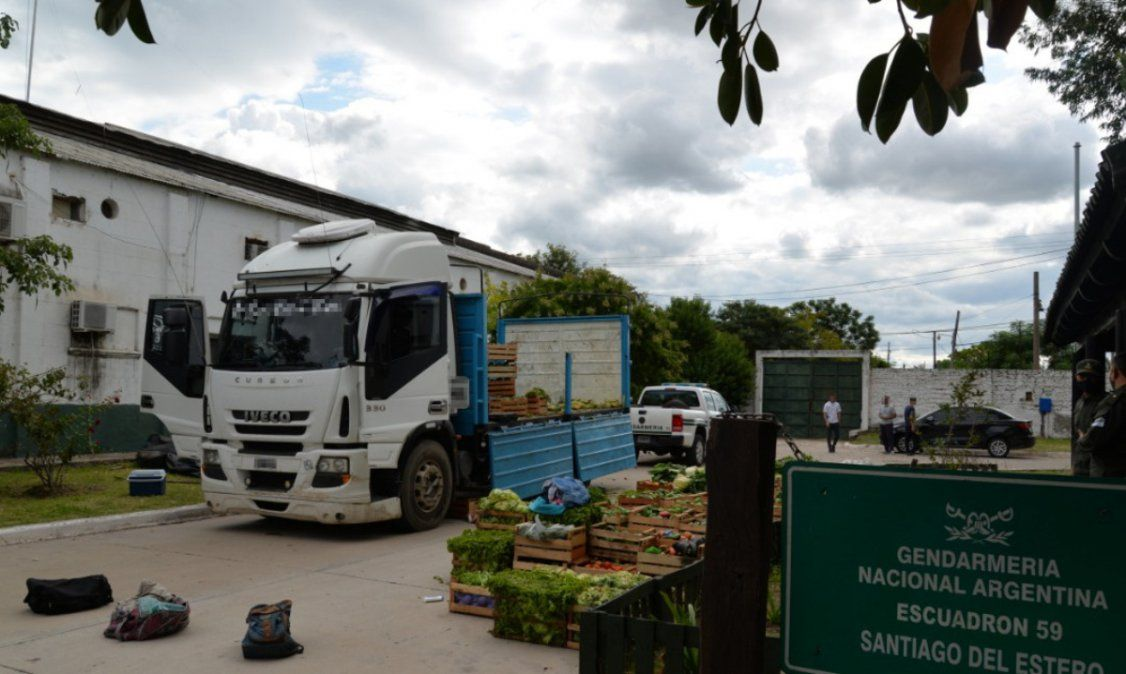 Un camión con verduras que salió de Jujuy fue detenido con 10 kilos de cocaína