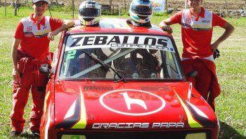 Ortega y Zeballos se consagraron en el debut del automovilismo interprovincial