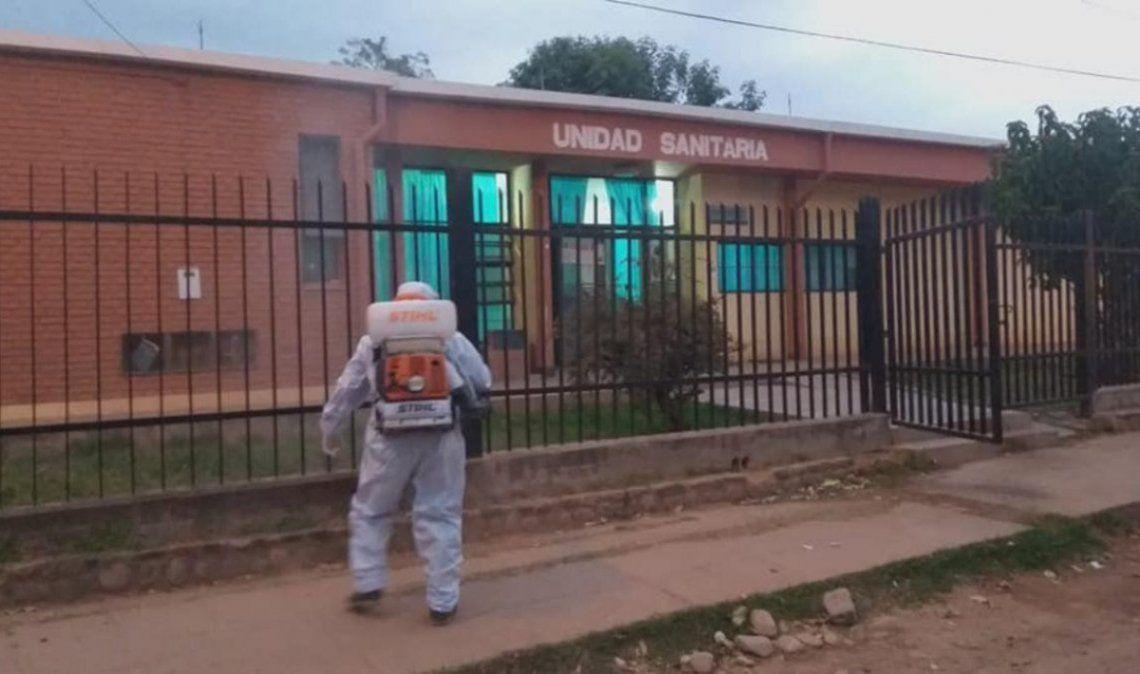 Foto: Unidad sanitaria en Puesto Viejo