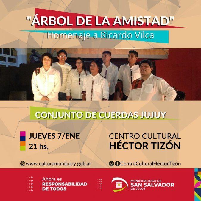 El Conjunto de Cuerdas Jujuy homenajeará al maestro Ricardo Vilca