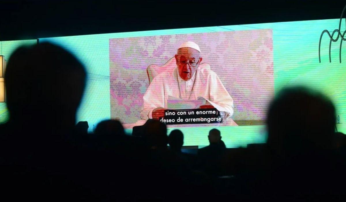El mensaje de Francisco en el 57° Coloquio IDEA: No se puede vivir de subsidios