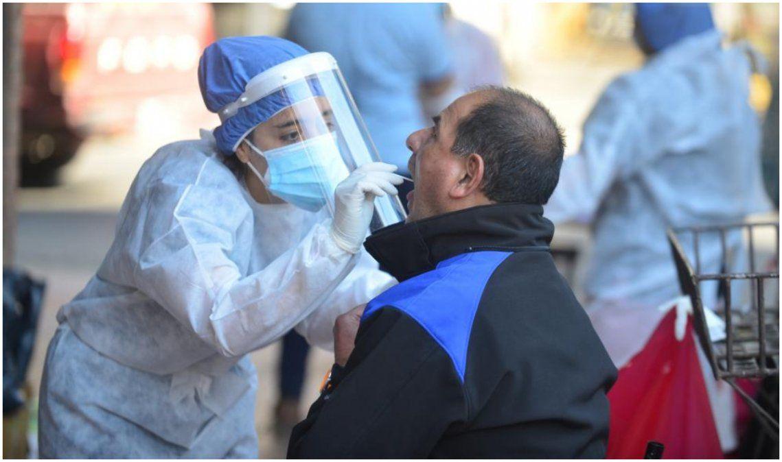 Confirmaron 7.498 casos nuevos: Ya son más de 275mil los contagios en el país
