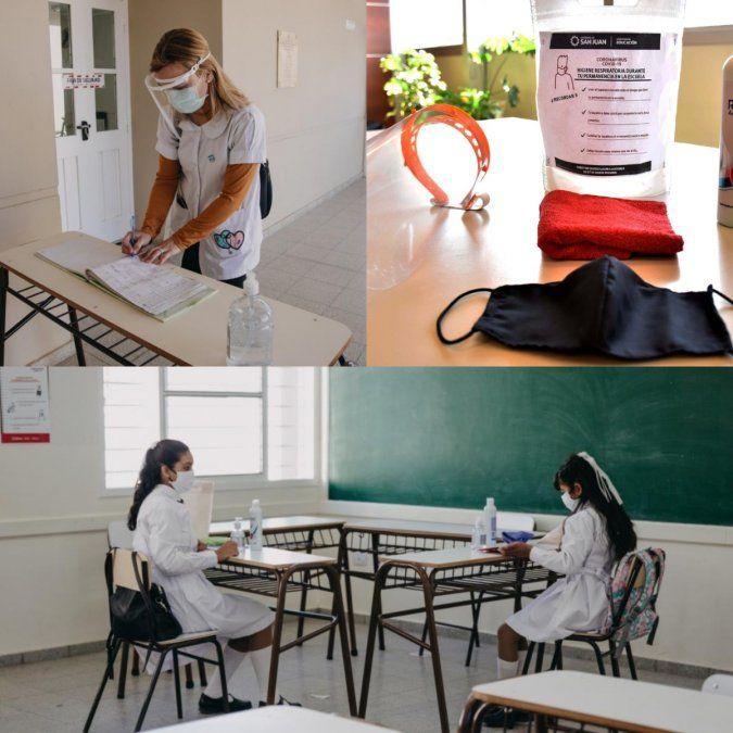 Cómo es el protocolo para el regreso a clases en San Juan