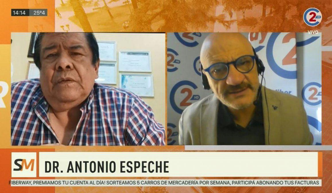 Sobremesa 09-09-20 | Dr. Antonio Espeche