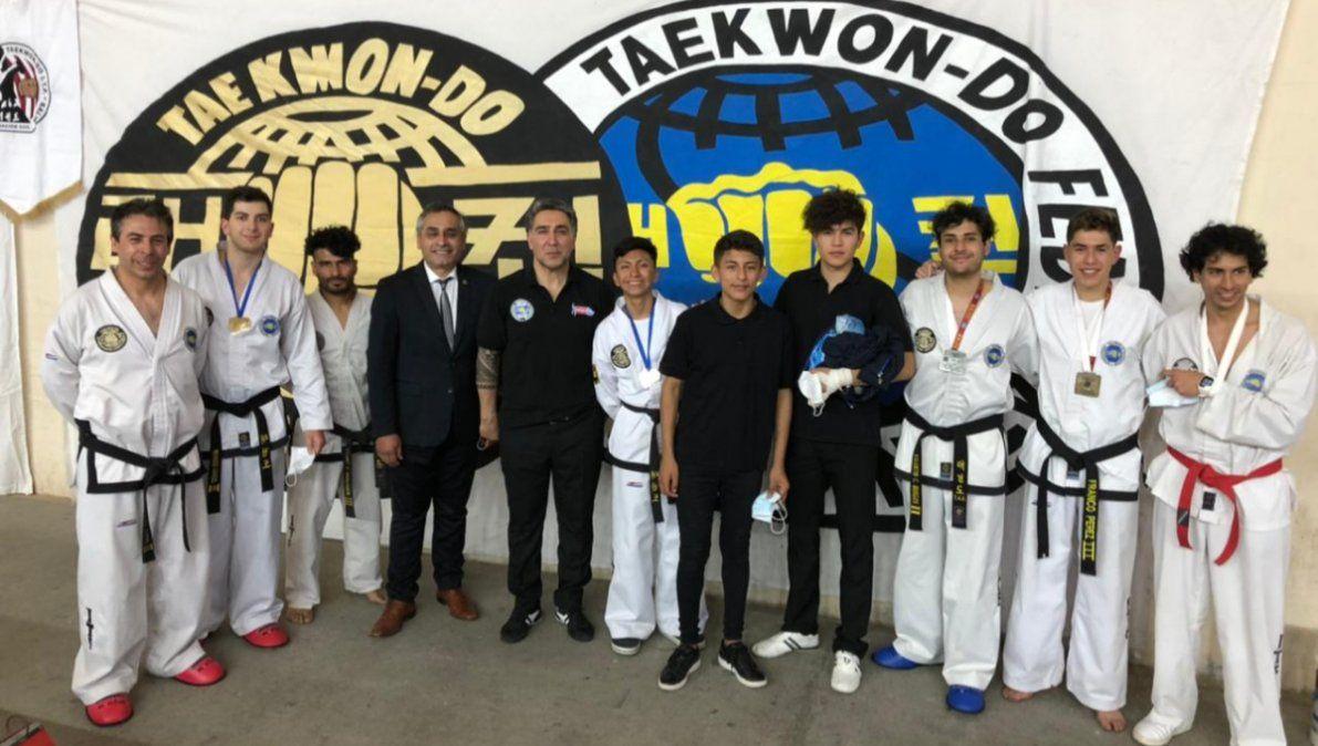 La Federación jujeña de Taekwon-do volvió a ser protagonista en la competencia presencial