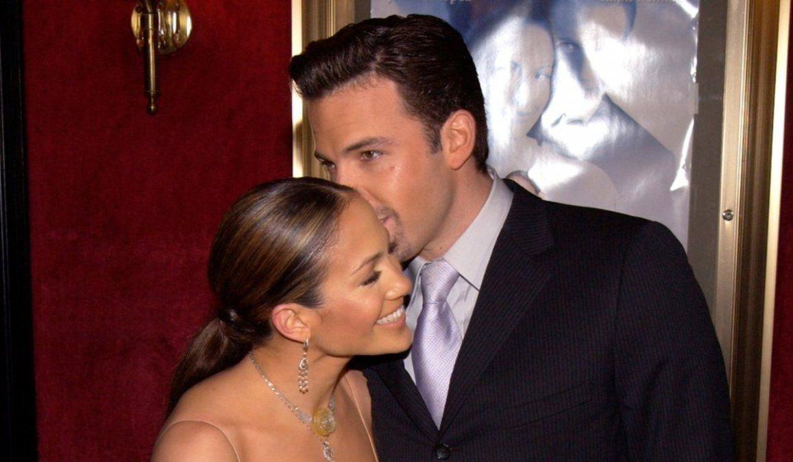 El mensaje de amor virtual de Ben Affleck a Jennifer Lopez que hizo revivir el romance 17 años después