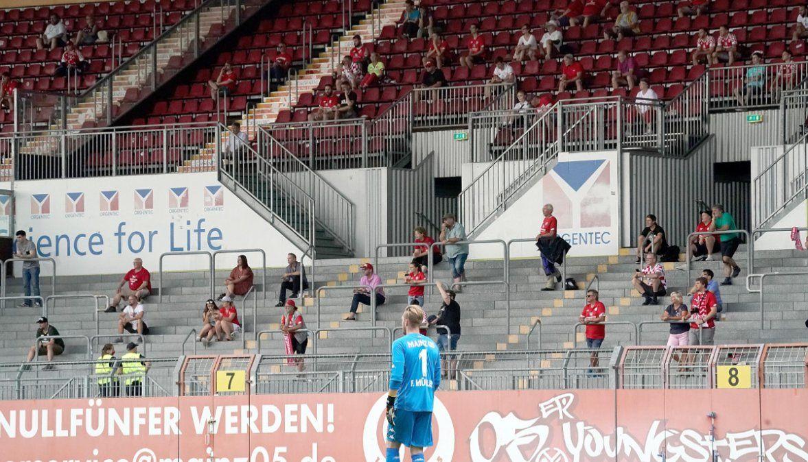 Vuelve el público en la Bundesliga