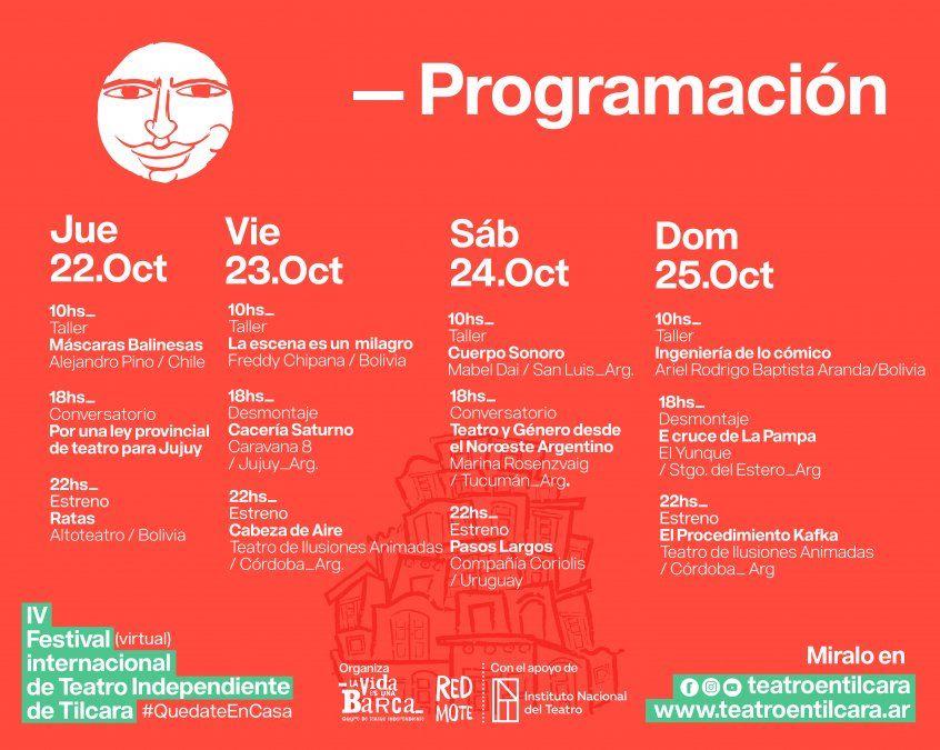 Se viene el 4º Festival Internacional de Teatro Independiente de Tilcara