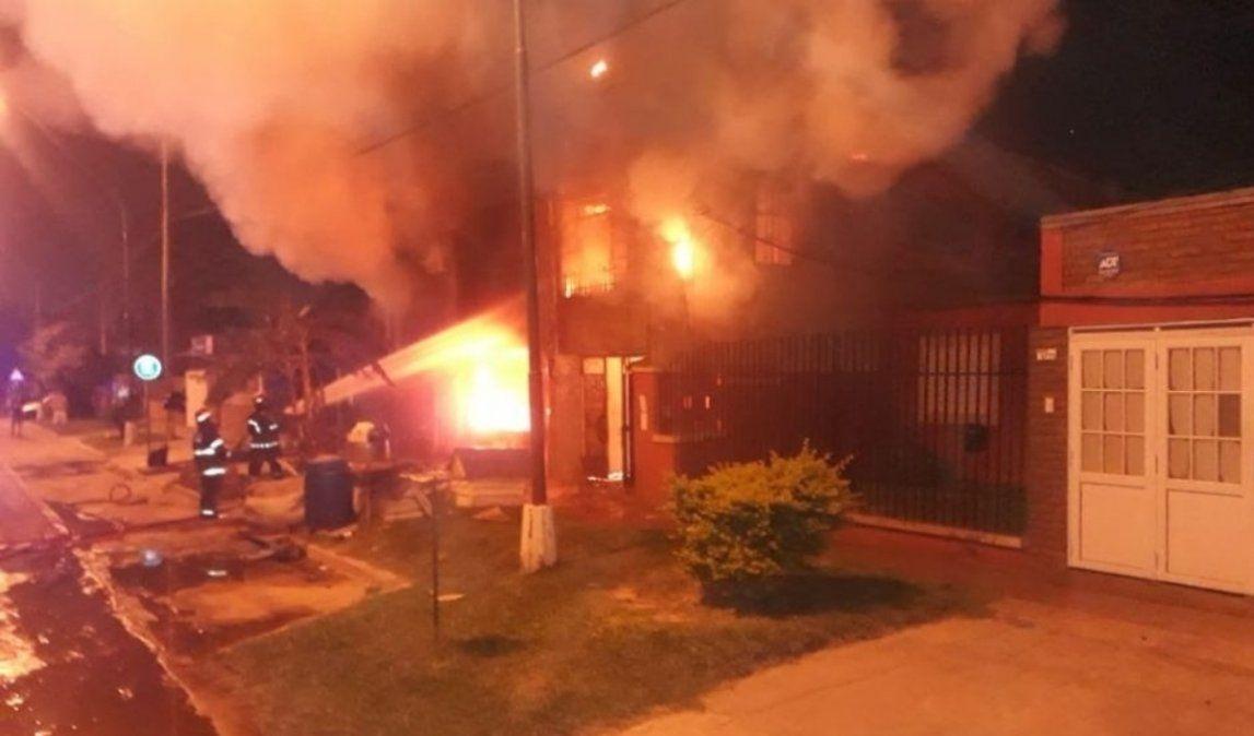 Incendio en una vivienda de Fraile Pintado