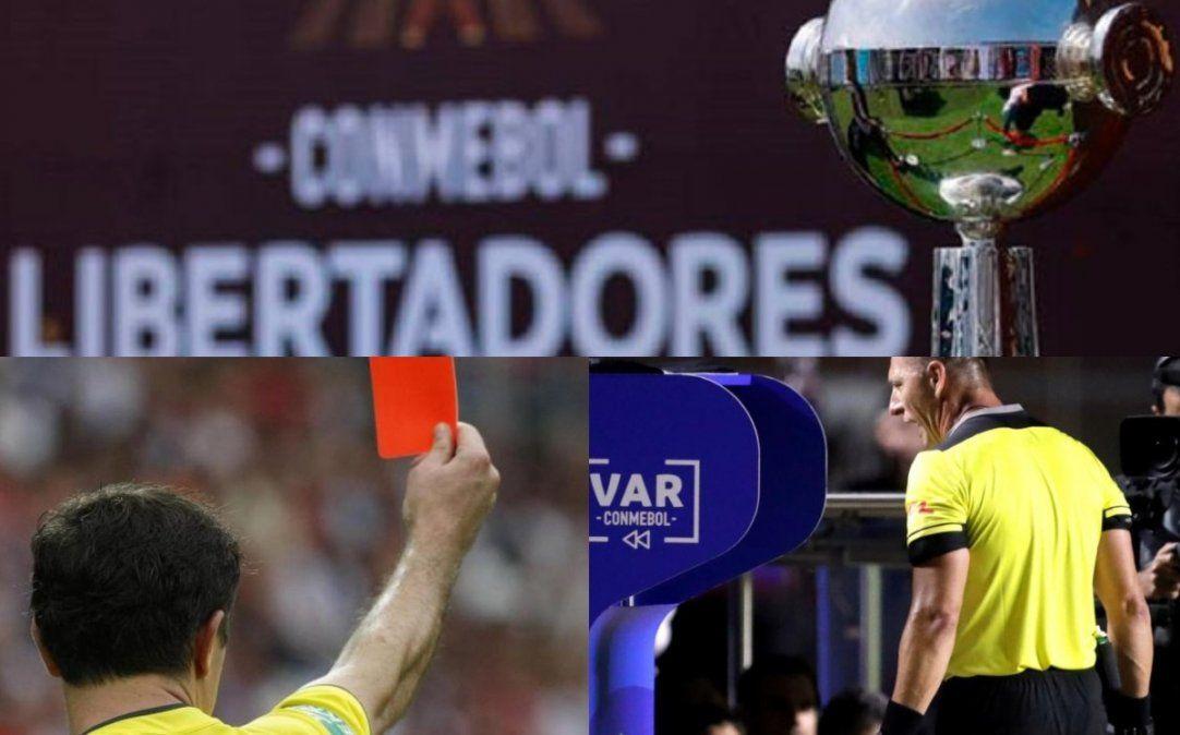 Se designaron los árbitros para la última fecha de la Copa Libertadores