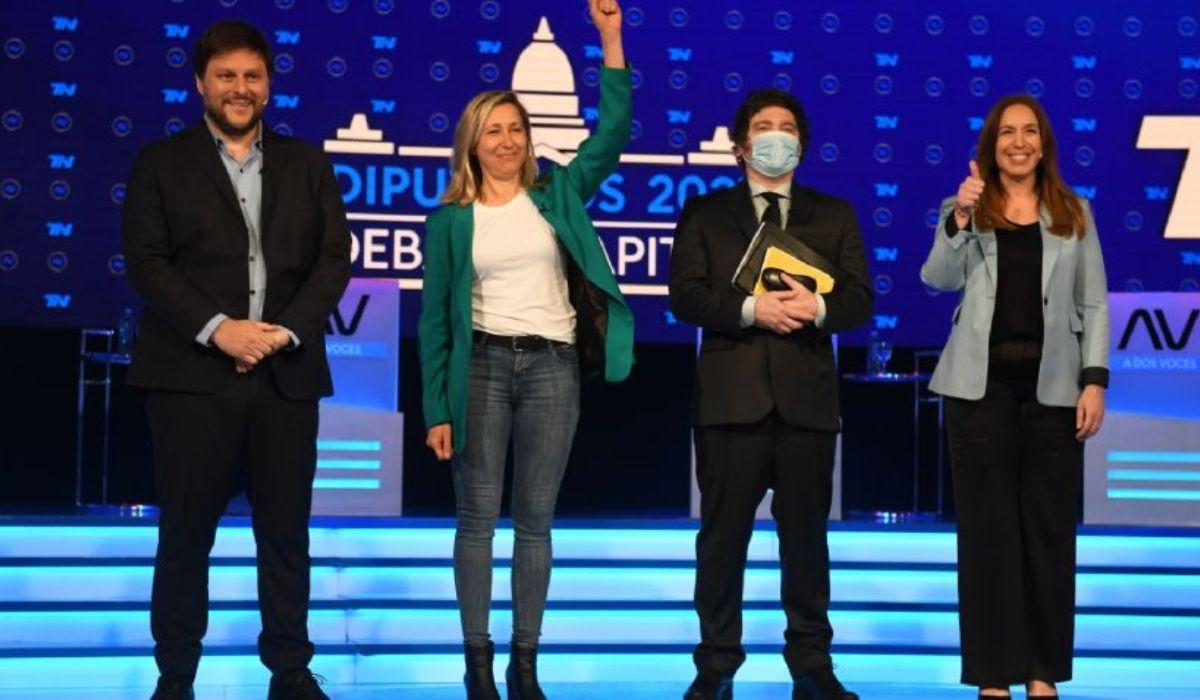 Intenso debate entre María Eugenia Vidal, Leandro Santoro, Javier Milei y Myriam Bregman