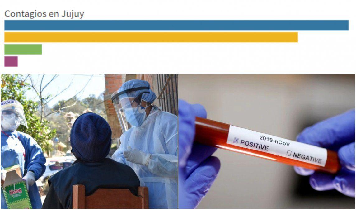 Coronavirus en Jujuy: Sólo hay 276 casos activos