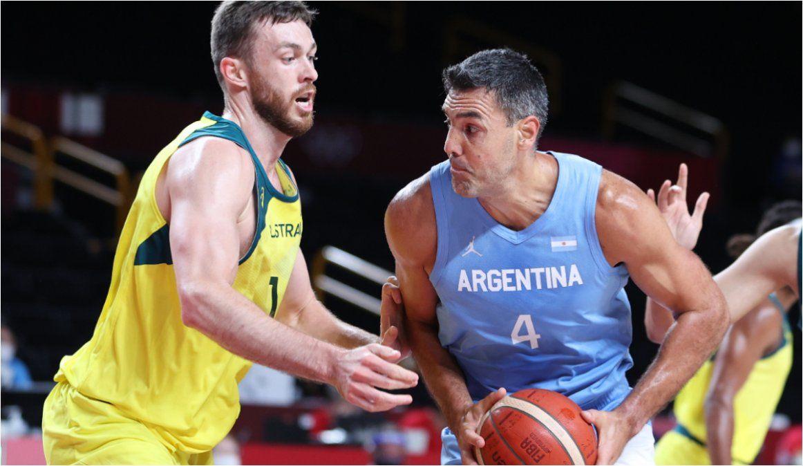La Selección Argentina de básquet cayó ante Australia y se despidió de los Juegos