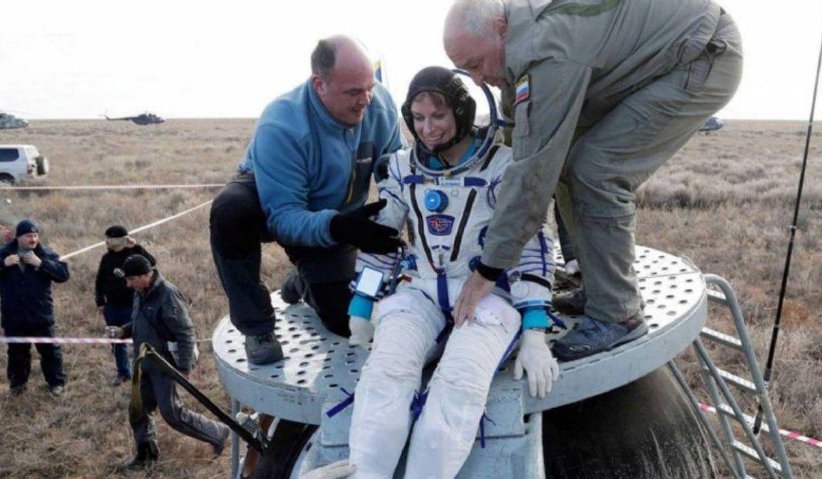 Video: exitoso aterrizaje de la nave Soyuz MS-17 en Kazajistán