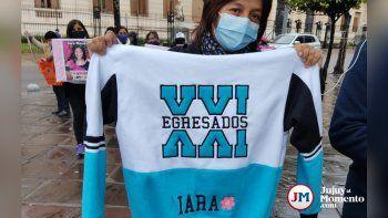 Nueva marcha por Iara: