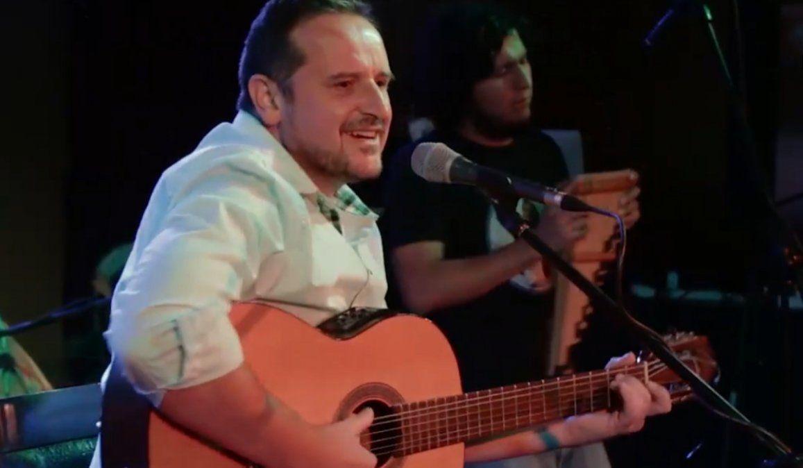 José Simón presentó una nueva zamba dedicada a Jujuy