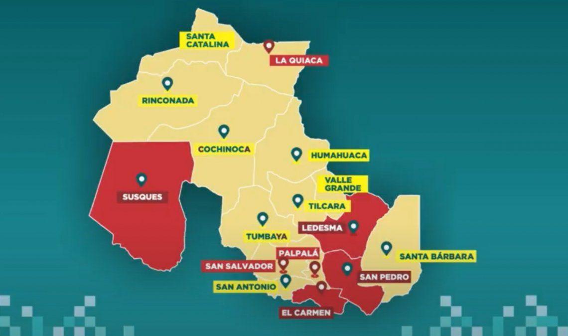 4 departamentos y 3 ciudades continúan en zona roja