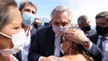 Tras el temblor, Alberto recorrió San Juan y anunció $7.000 millones para la provincia