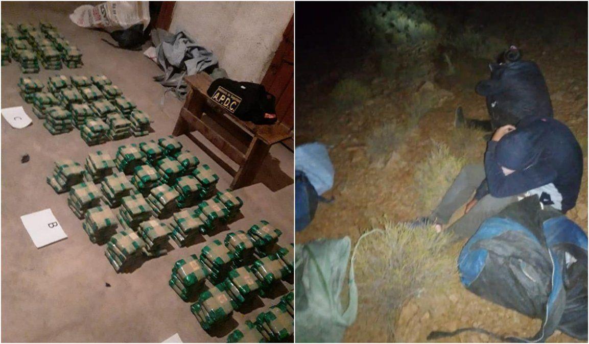 La Quiaca: Detuvieron a dos bolivianos intentando pasar 65 kilos de hojas de coca