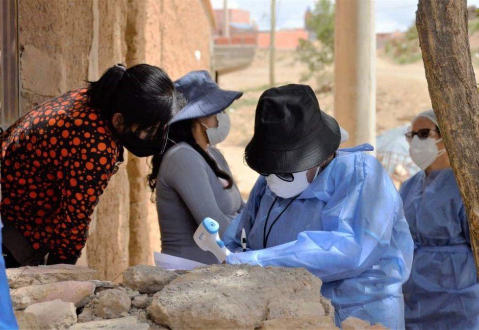 Alerta en La Quiaca: advierten por un brote de 900 casos de Covid-19 en Villazón