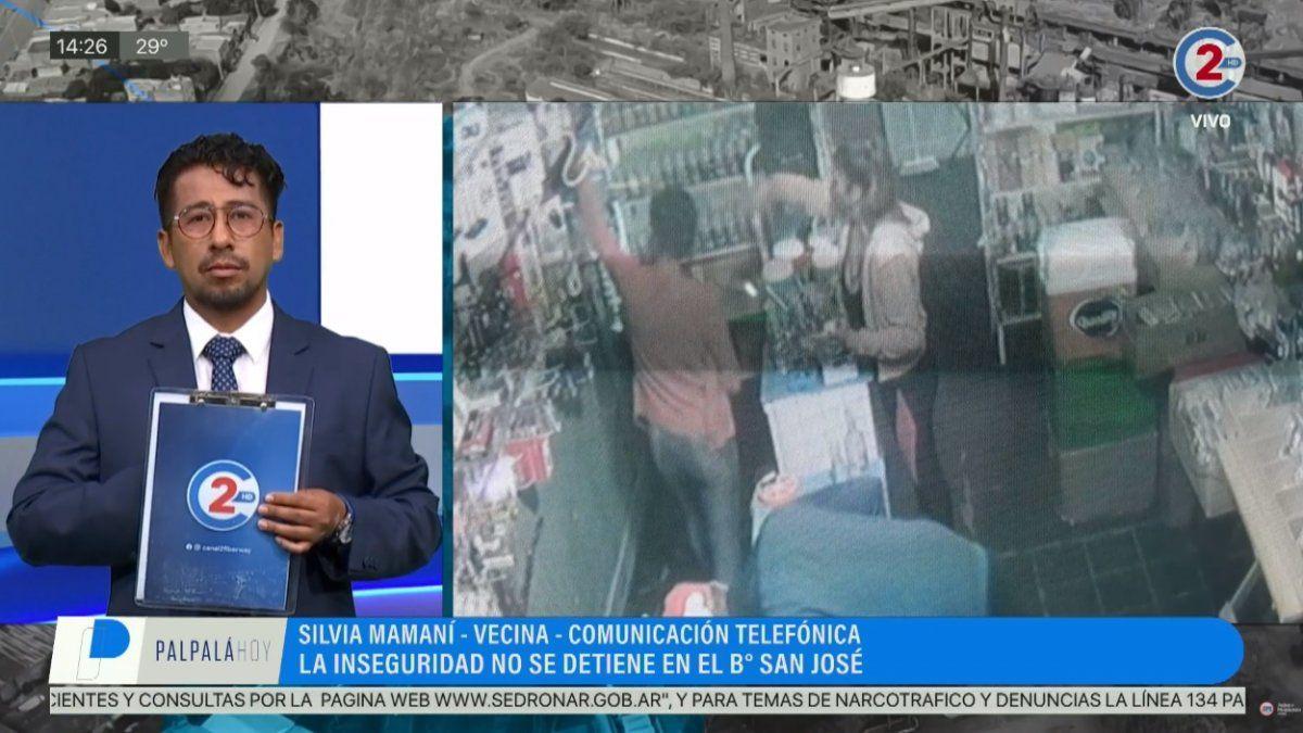 Barrio San José: Cansados de los robos, vecinos intentan cazar a los ladrones