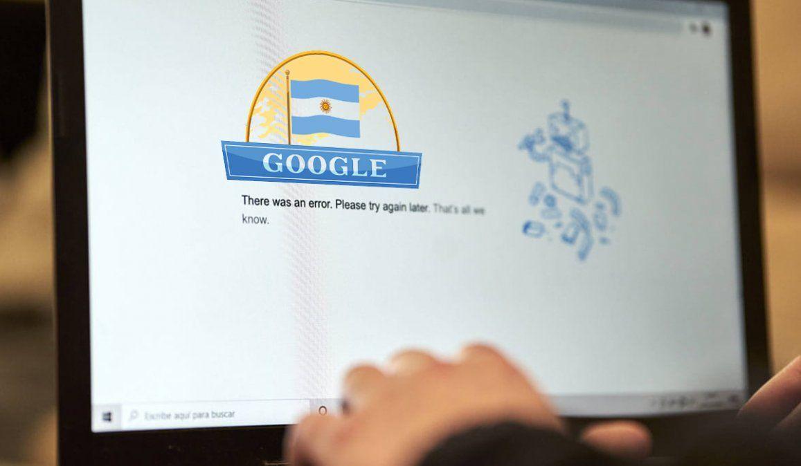 Un joven argentino usurpó el dominio de Google y el buscador dejó de funcionar
