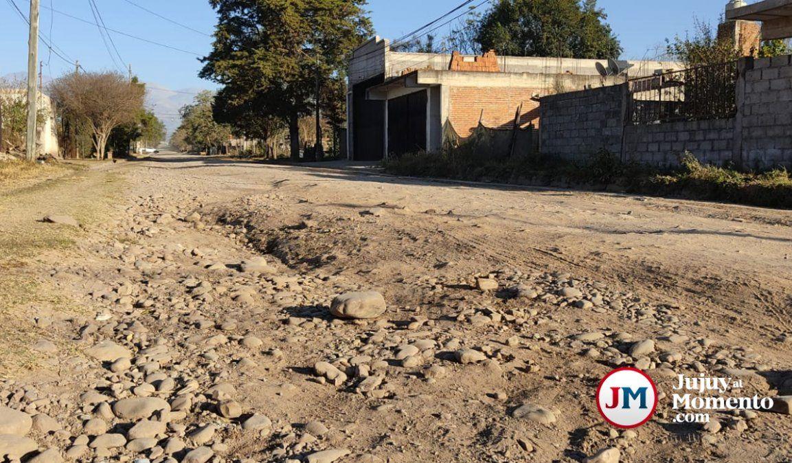 Hartazgo en Palpalá: Hace años que vivimos en caminos de tierra