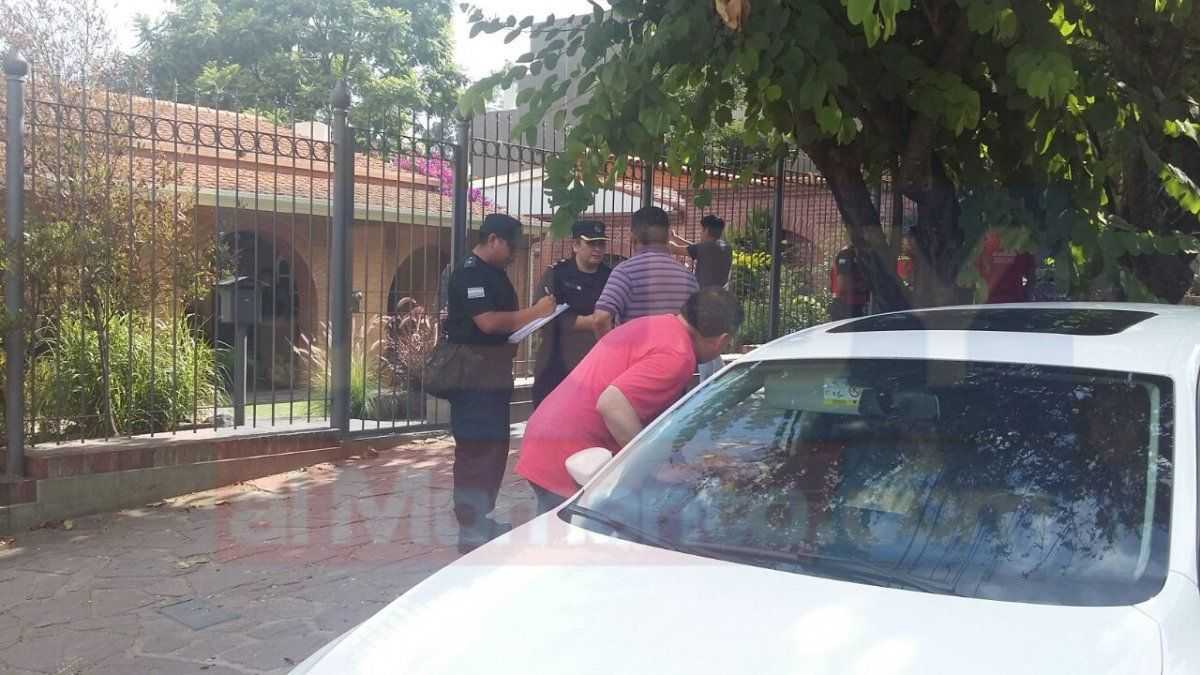 Allanamiento en la casa de Guillermo Fiad