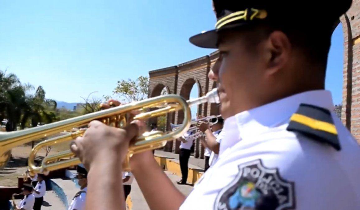 La Banda de la Policía brindará una serenata en honor a Santa Cecilia, patrona de los músicos