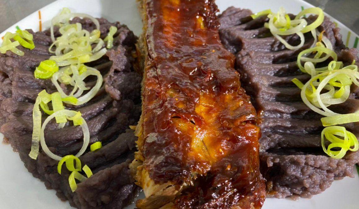Hoy cocinamos Costillas de cerdo con salsa BBQ