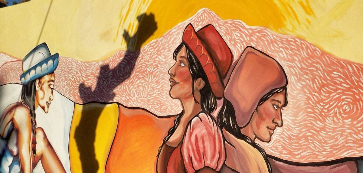 Las fantásticas obras de arte que dejó el Encuentro de Muralistas en Perico